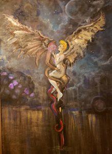 naked fairy artwork